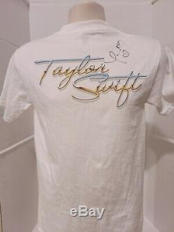Taylor Swift Real Main Signe Sz Petit 2006 Rare T-shirt Autographié Coa