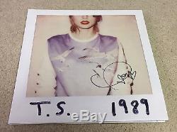 Taylor Swift Vinyle Autographié De 1989 Autographié À La Main, Authentifié À 100%