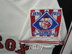 Ted Williams Signée À La Main Auto Autograph Jersey Boston Red Sox Framed Jsa Z97710