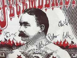 The Decemberists 2005 - Affiche Dédicacée, Autographiée Et Signée À La Main # 108/350
