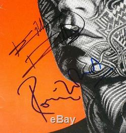 The Rolling Stones Tattoo You Signée À La Main Autographié Personnalisée Encadrée Album! Preuve