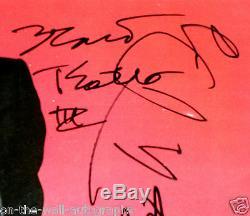 Tom Petty Et Les Heartbreakers Album Autographe Signé A La Main! Rare! Avecproof + Coa