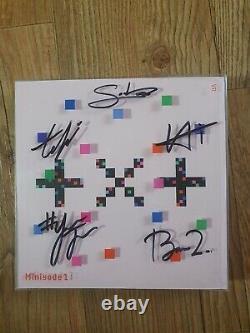 Txt Album Promo Autographié Main Signée