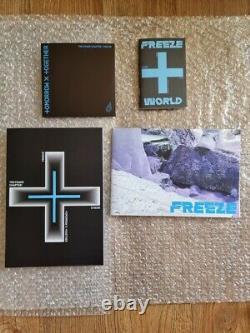Txt Freeze Promo Album Autographié Signé À La Main