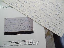 Ty Cobb Auto Jsa Loa James Spence Main Pleine Page Dédicacé Signé L 'écrit