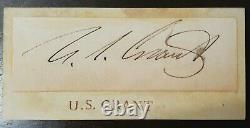 Ulysses S. Grant Hand Signed Autograph 18th United States President Hot
