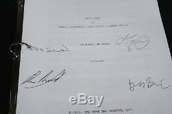 Uncut Gems Signée À La Main Script Scénario Autograph Fyc Pour Votre Josh Sadie