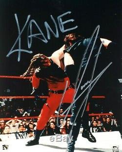 Undertaker Et Kane Wwe Signée À La Main Autographié 8x10 Photo Avec Coa Old School 2