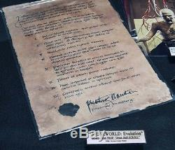 Underworld Main Prop, Signé Bill Nighy Autograph, Blu Ray Dvd, Coa, Cadre, Uacc