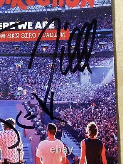 Une Direction Signé À La Main Photographie Authentique Autographe Zayn Harry Styles 1d Rare
