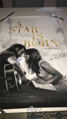 Une Étoile Dédicacée, Autographiée, Signée À La Main (par Le Casting Entier) 27x40