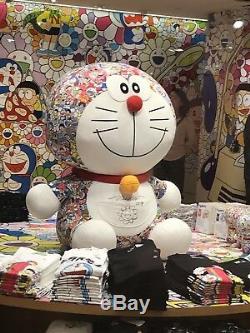 Uniqlo Doraemon X Jouet En Peluche Takashi Murakami Autographé À La Main