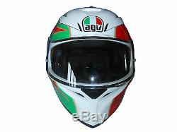 Valentino Rossi Signée À La Main Legend Casque Agv Motogp Très Rare