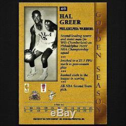 Wilt Chamberlain / Hal Greer 1996 Topps Double Carte Dédicacée Autographe Aveccoa