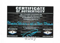 Wwe Alexa Bliss Et Nia Jax Signé À La Main Plaque Autographiée Avec Preuve Et Coa