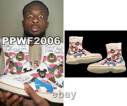 Wwe Big E Ring Worn Hand Signé Autographié New Day Boots With Proof And Coa 2