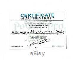 Wwe Hulk Hogan Et Ric Flair Signée À La Main Autographié 8x10 Photo Avec Coa 3
