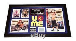 Wwe John Cena Wrestlemania Plaque Commémorative Autographiée Et Signée À La Main 31
