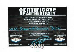 Wwe Shawn Michaels Main Signé Autographié Adulte Taille Ailée Eagle Belt With Coa