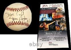 Wwe Stone Cold Steve Austin 316 Signé À La Main Baseball Autographié Avec Jsa Coa