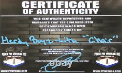 Wwe The Hardy Boyz And Lita Hand Signed Autographed Chair With Proof And Coa