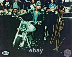 Wwe The Undertaker Hand Signed Autographed 8x10 Photo Avec Beckett Coa Rare 26