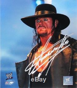 Wwe Undertaker Signée À La Main Autographié 8x10 Photofile Photo Avec Proof & Coa 1