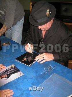 Wwe Undertaker Signée À La Main Autographié Photofile Photo Avec Pic Proof Et Coa 15