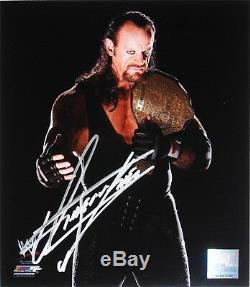 Wwe Undertaker Signée À La Main Autographié Photofile Photo Avec Pic Proof Et Coa 4