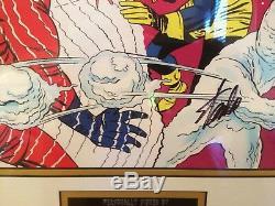 X-men Marvel Comics Autographe Signé Stan Lee, Signé, Encadré, Présentation, Superbe