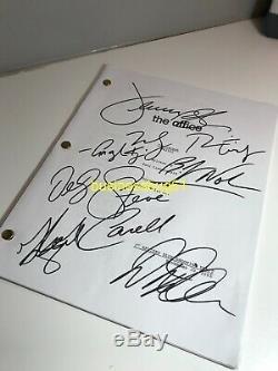 X1 Signée À La Main Bureau Script Rainn Wilson Steve Carell L'carpet Coa Rare